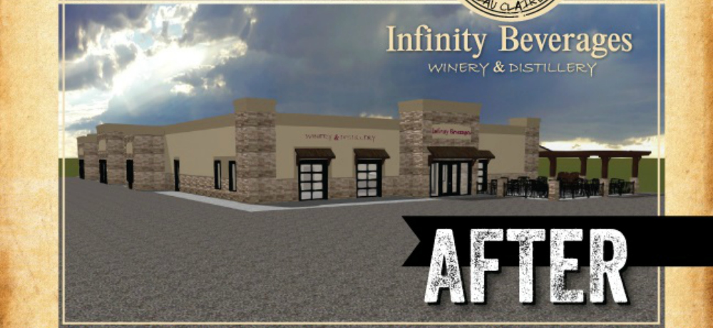 The new Infinity Beverages will have a tasting lounge and offer tours.