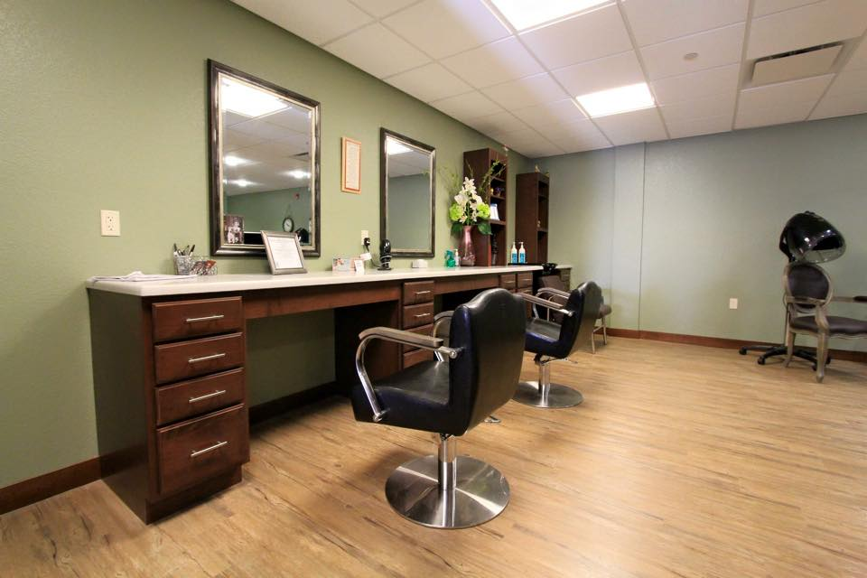 The spa and salon at The Classic at Hillcrest Greens