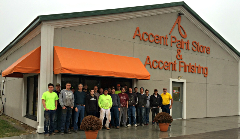 Employees at Accent Paint Store LLC and Accent Finishing Inc.