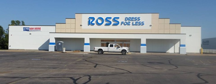 Accent Finishing Completes Work at the New Ross Store in Eau Claire, WI