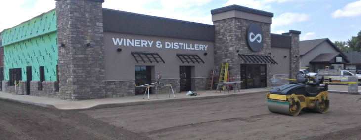 Accent Provides EIFS and Staining at the New Infinity Beverages