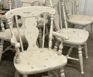 refinished chairs Accent Finishing
