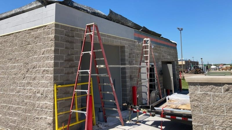 commercial interior and exterior painting